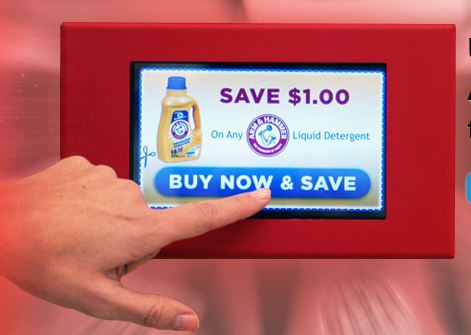 New in-aisle promotional technologies