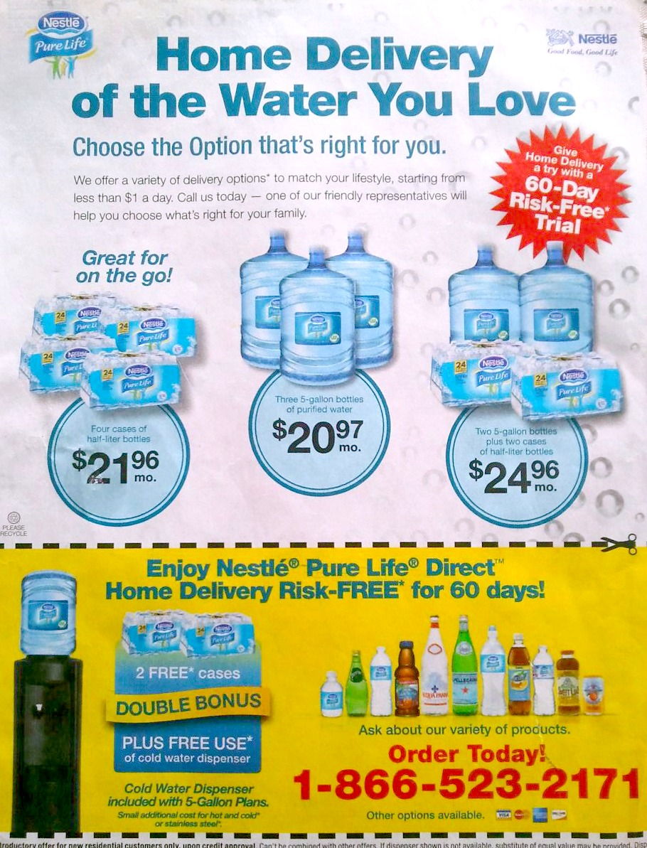Nestle water delivery doha - Vintage pearl coupon code 2018