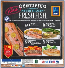 Aldi reaches for a bigger share of wallet with fresh seafood